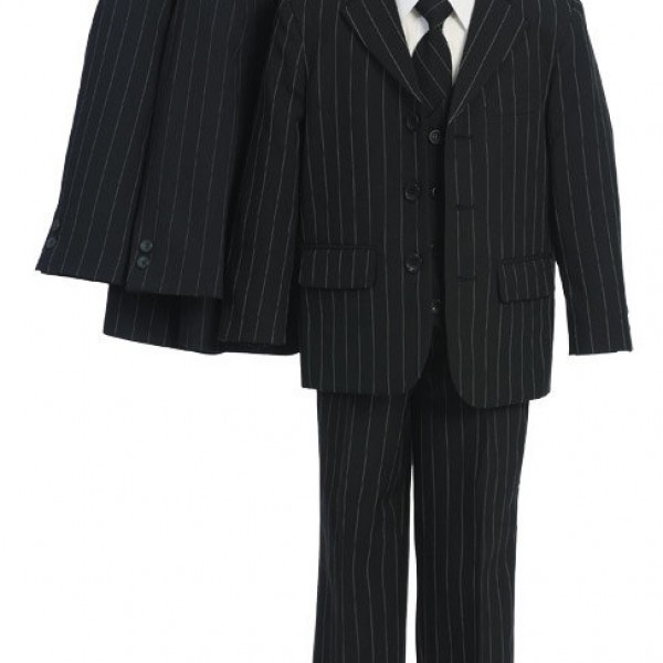 sweet-kids-M111-black-with-stripe-boys-3-button-speciality-5-piece-suit